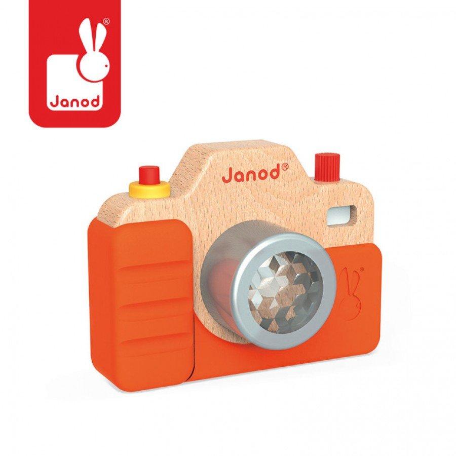 Janod - Drewniany aparat fotograficzny z dźwiękami | Esy Floresy