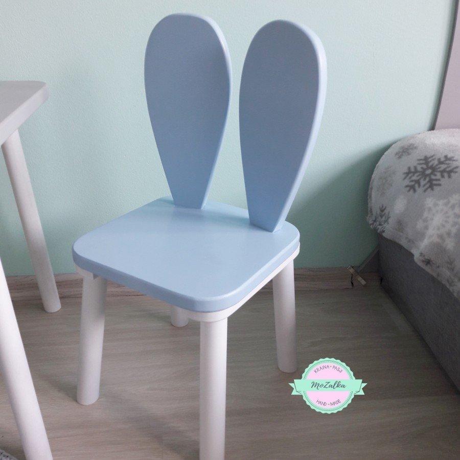 MoZalka Krzesełko Królik - Niebieski | Esy Floresy