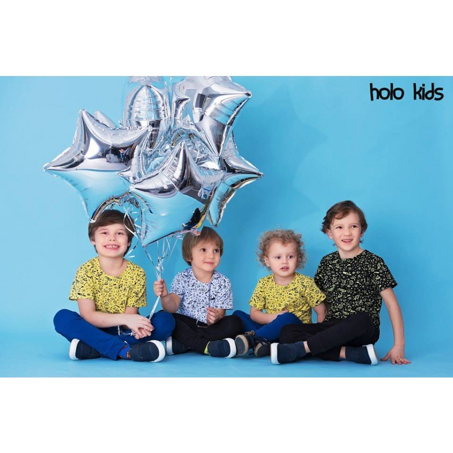 Holo Kids - Koszulka Kosmos Biała | Esy Floresy
