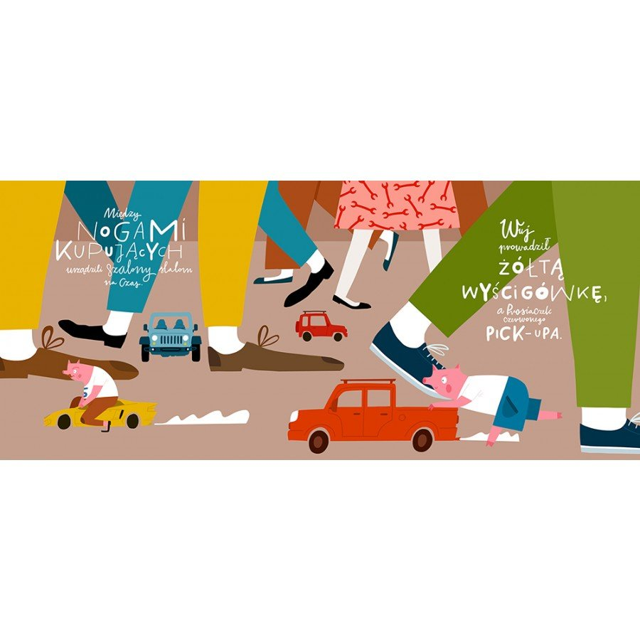Prosiaczek i pojazdy - Esy Floresy