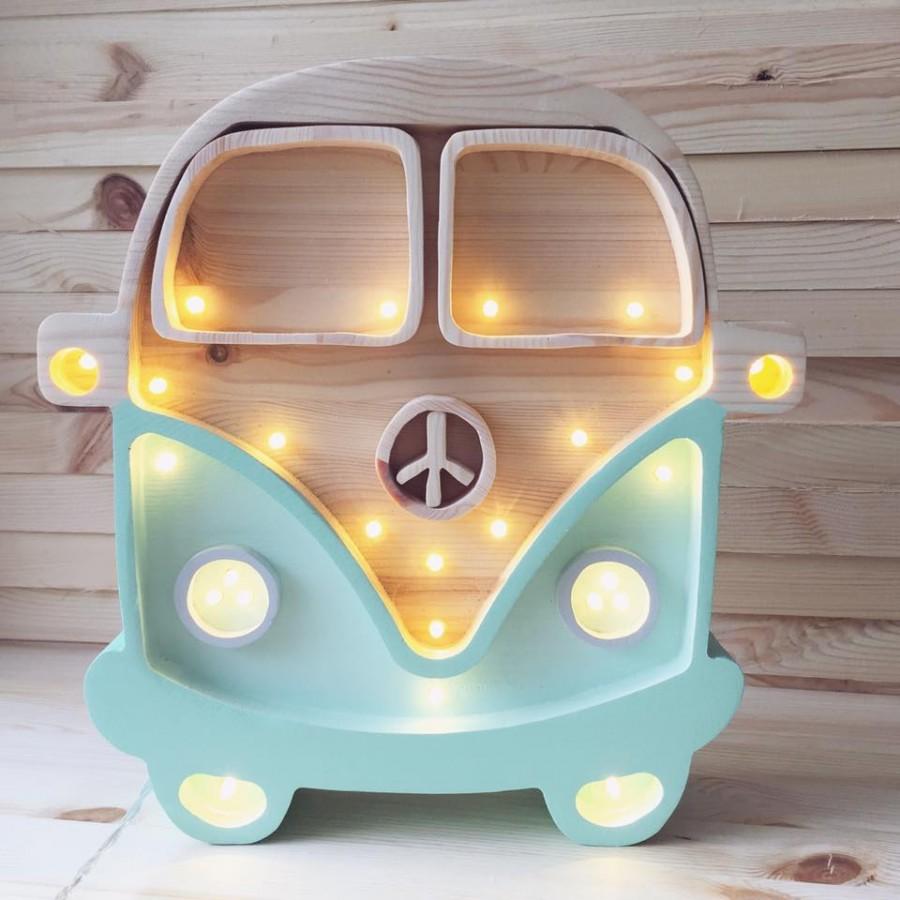Lampa Little Lights Van - miętowy | Esy Floresy