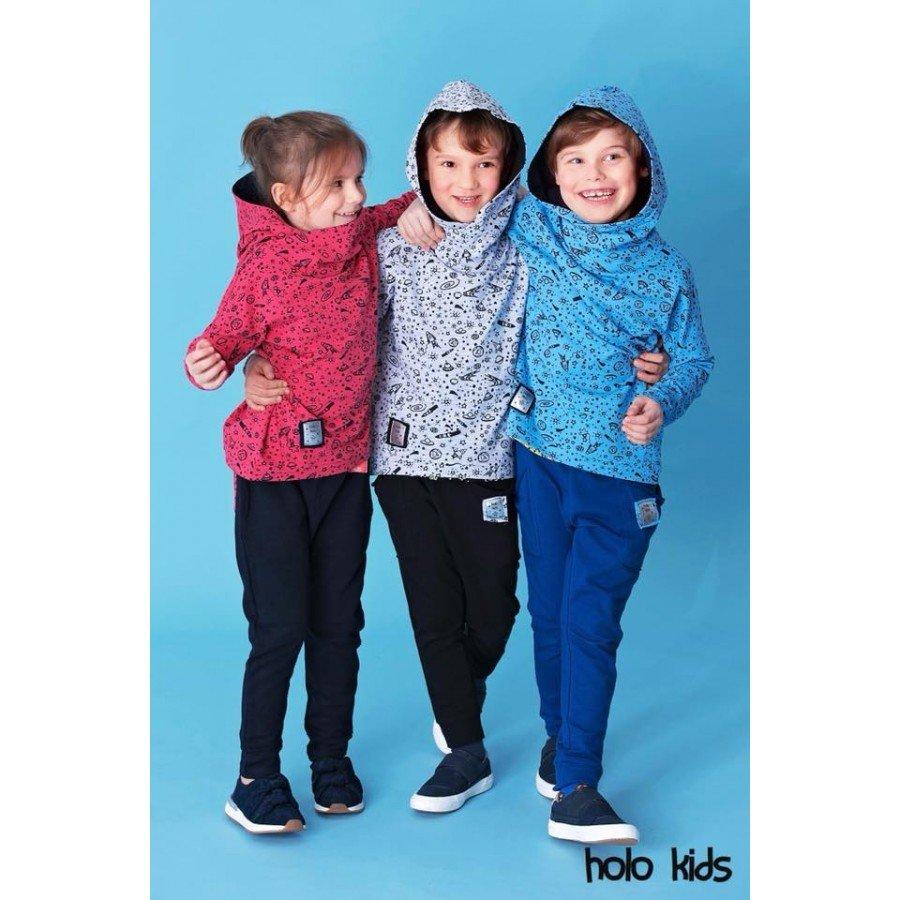 Holo Kids - Bluza Kosmos Szara | Esy Floresy