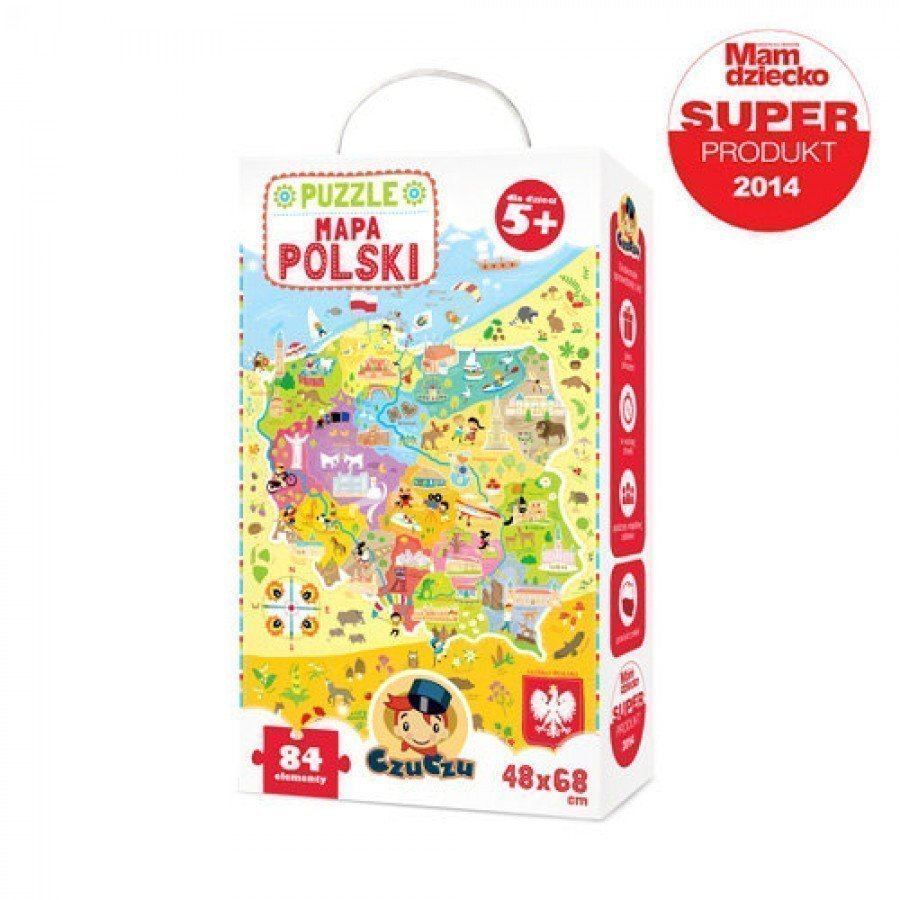 CzuCzu Puzzle Mapa Polski | Esy Floresy