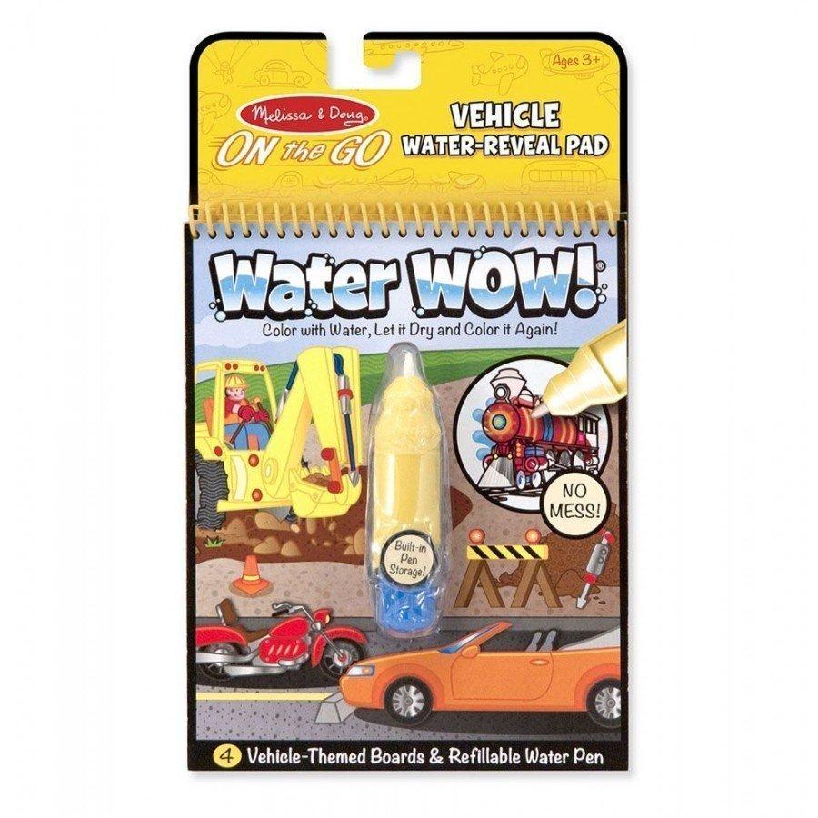 Melissa & Doug - Kolorowanka wodna Pojazdy | Esy Floresy