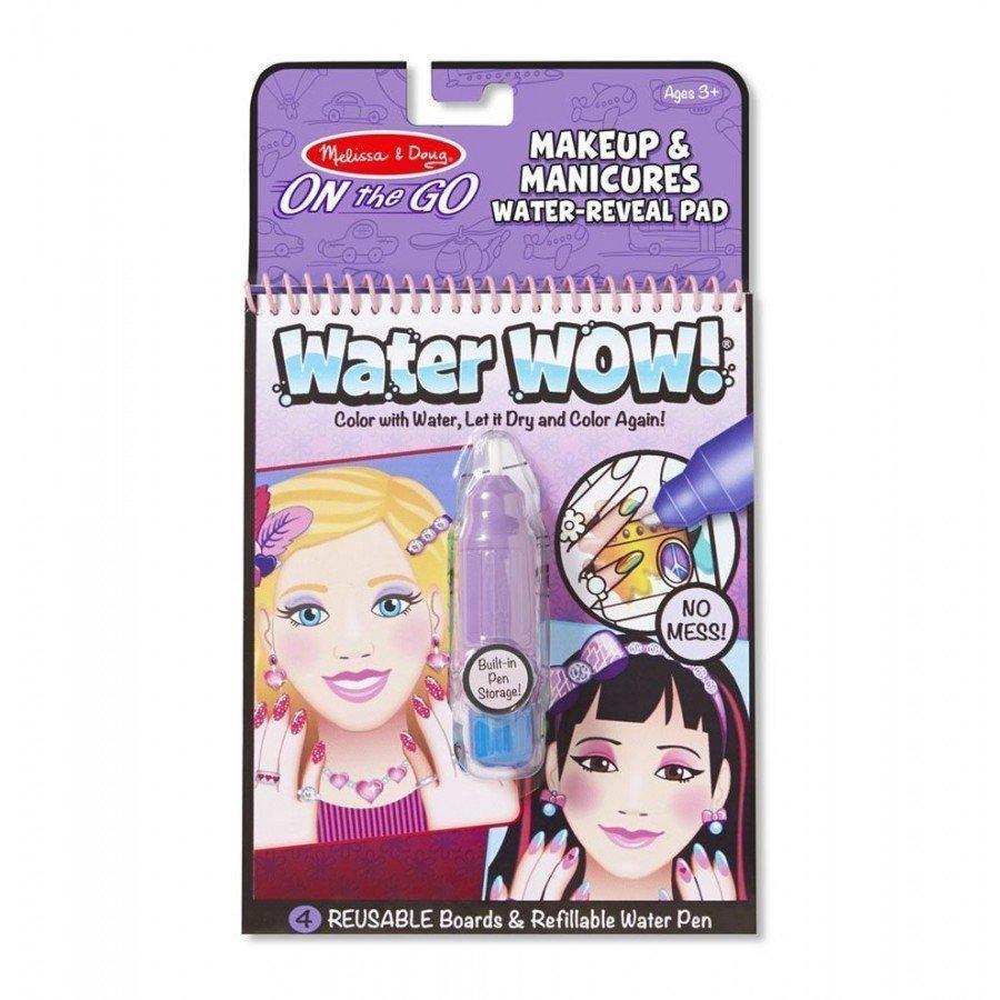 Melissa & Doug - Kolorowanka wodna Makijaż i manicure | Esy Floresy