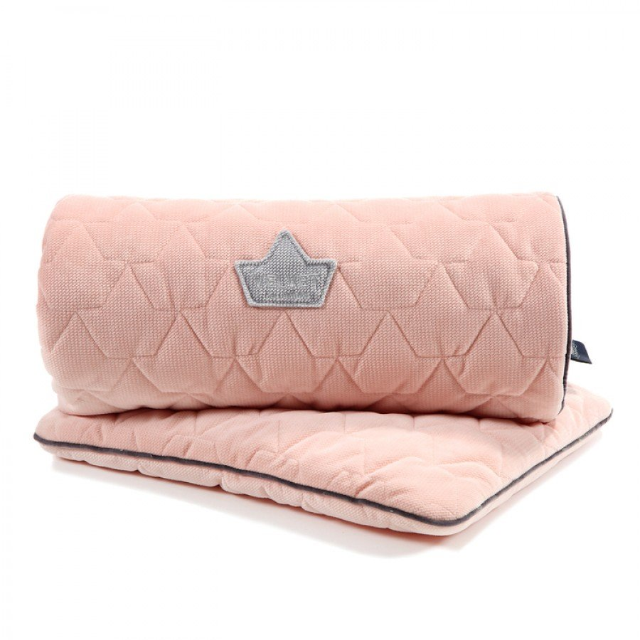 La Millou - Blanket & Mid Pillow Set/ Powder Pink Velvet Collection | Esy Floresy