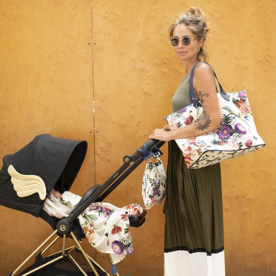 La Millou - Organizer do wózka - Moonlight Swan- Premium by Katarzyna Zielińska - Esy Floresy