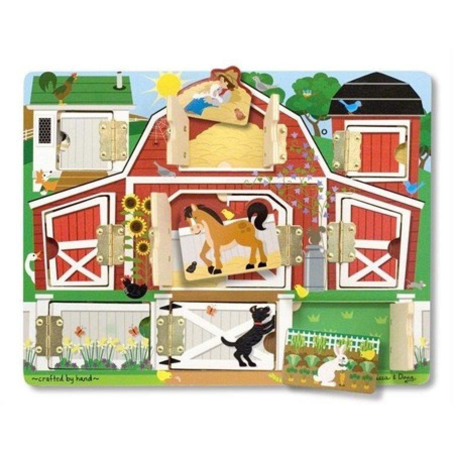 Melissa & Doug - Magnetyczna tablica edukacyjna Farma | Esy Floresy