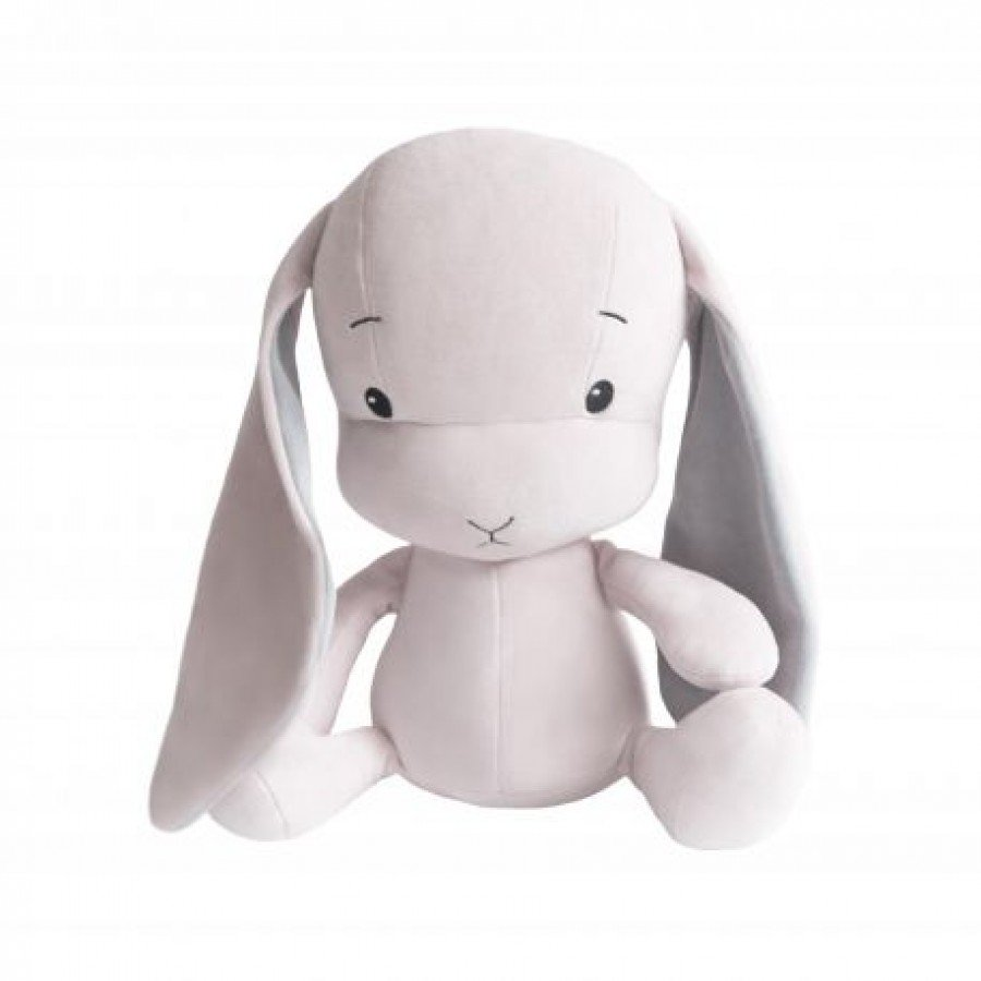 Effiki - Królik Effik S - Różowy, Szare uszy, 20 cm | Esy Floresy