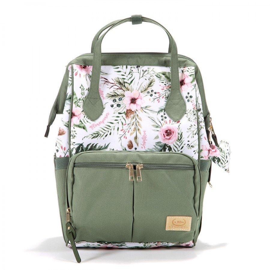 La Millou - Dolce Vita Plecak Wild Blossom   Esy Floresy