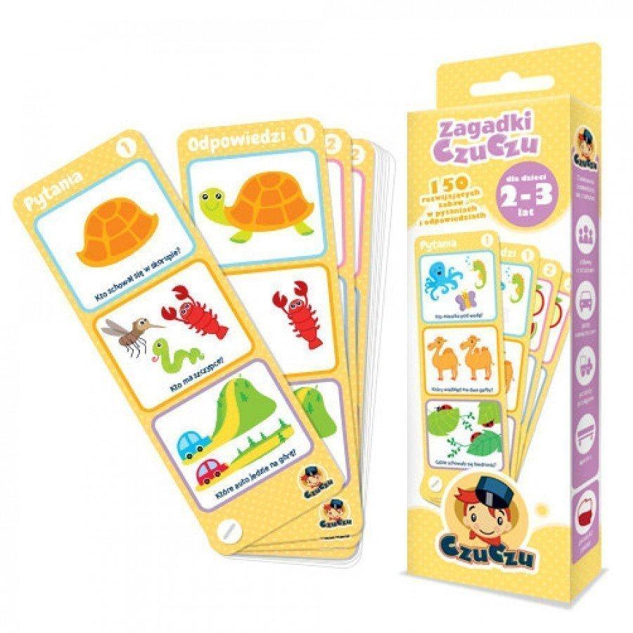 CzuCzu Zagadki dla dzieci od 2-3 lat | Esy Floresy