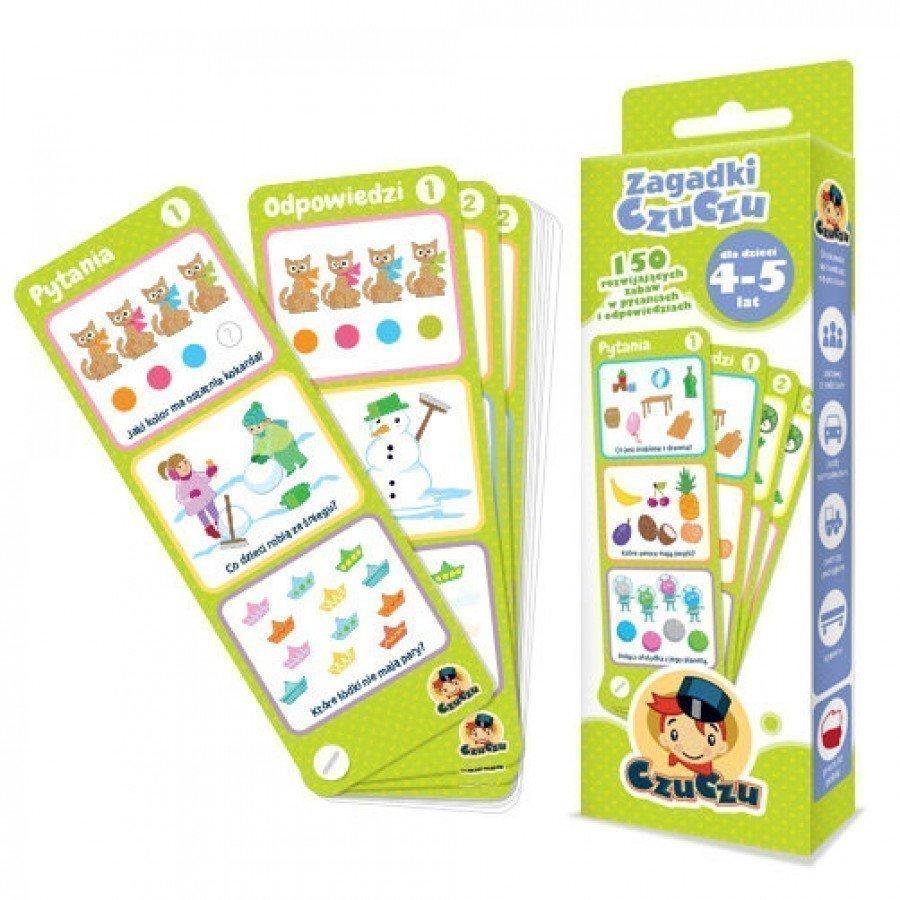 CzuCzu Zagadki  dla dzieci od 4-5 lat | Esy Floresy