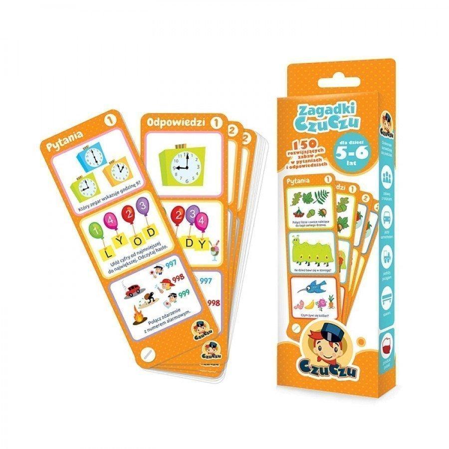 CzuCzu Zagadki dla dzieci od 5-6 lat | Esy Floresy