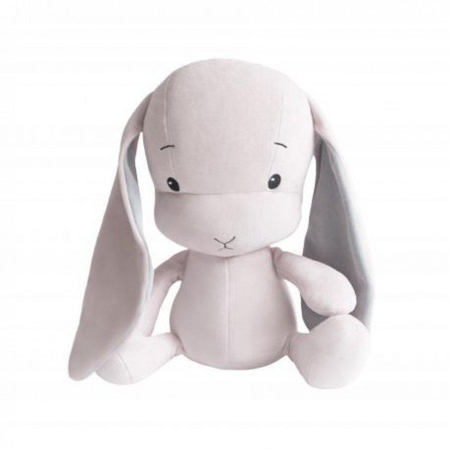Effiki - Królik Effik M - Różowy, Szare uszy, 35 cm | Esy Floresy