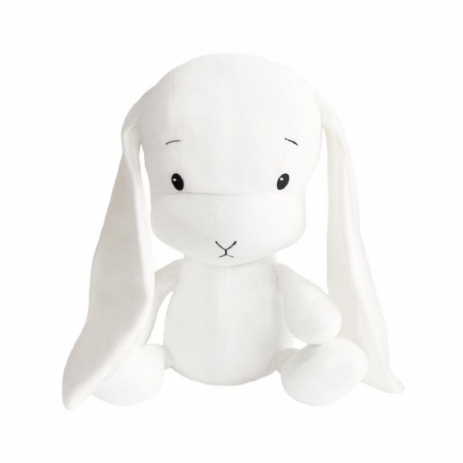 Effiki - Królik Effik M - Biały, Białe uszy, 35 cm | Esy Floresy