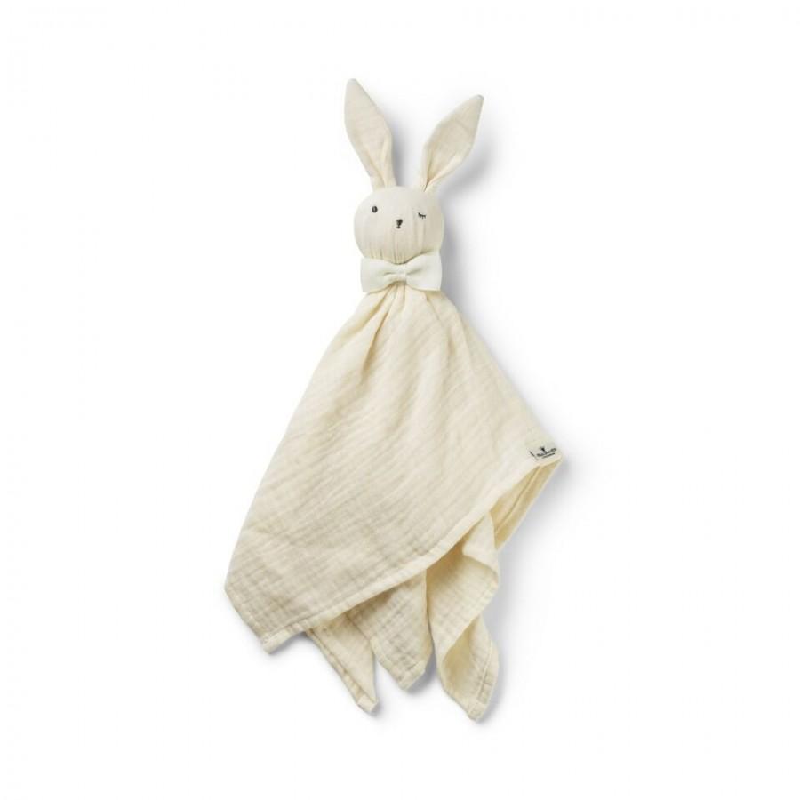 Elodie Details - Kocyk Przytulanka Blinkie Bonnie, biały   Esy Floresy