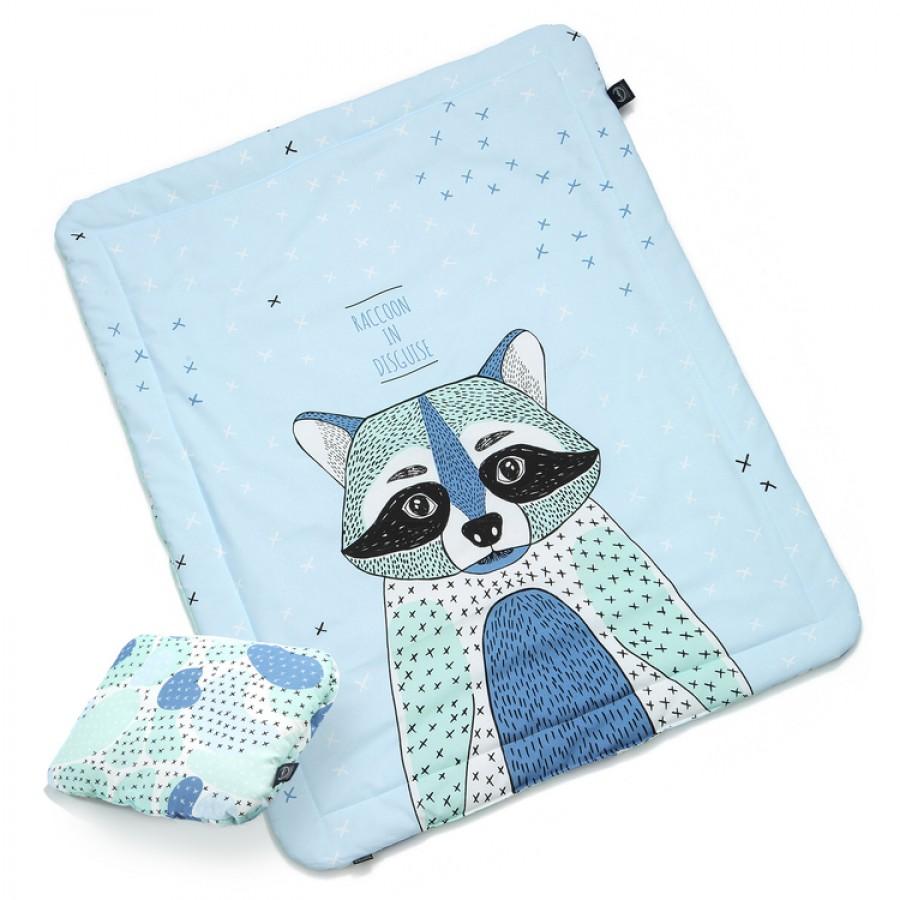 La Millou - Komplet Pościeli M - I'm Raccoon - Raccoon Spot | Esy Floresy