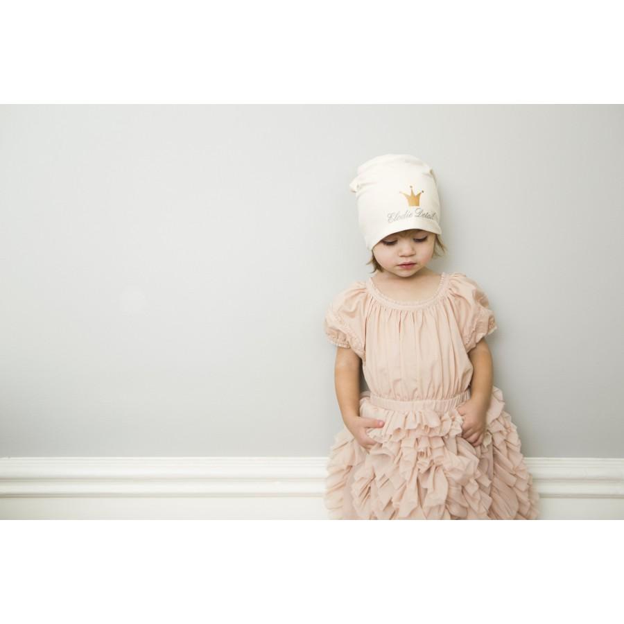 Elodie Details - czapka Vanilla White, 0-6 m-cy | Esy Floresy