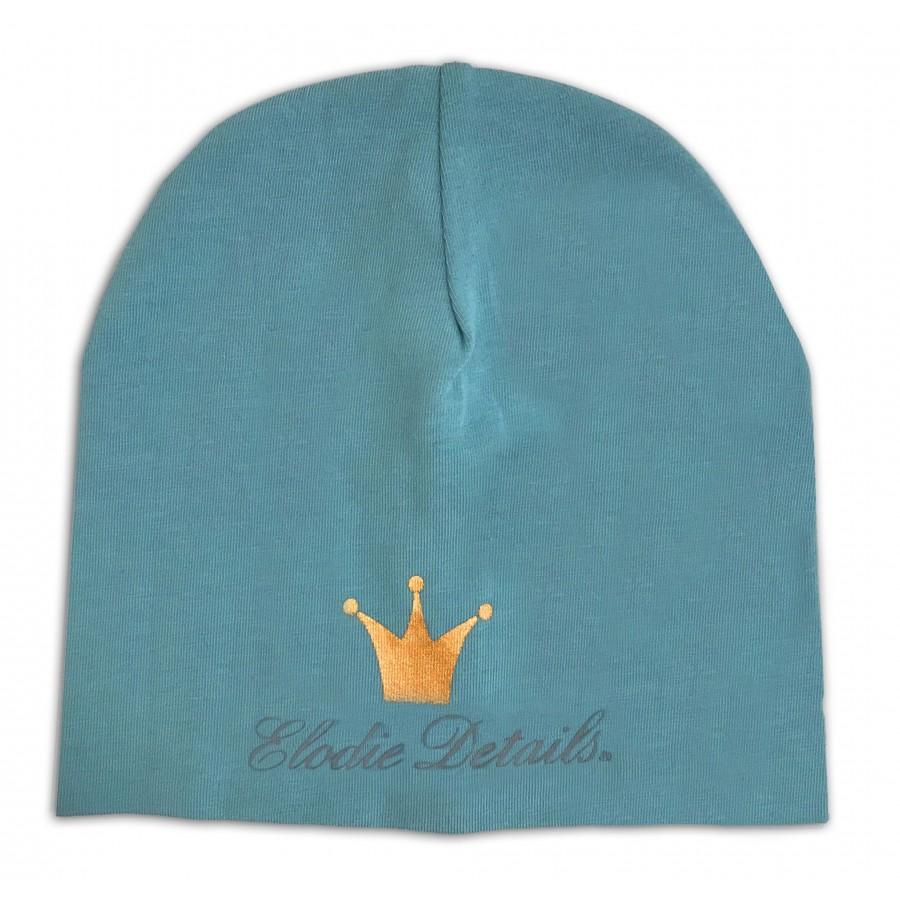 Elodie Details - czapka Pretty Petrol, 0-6 m-cy | Esy Floresy