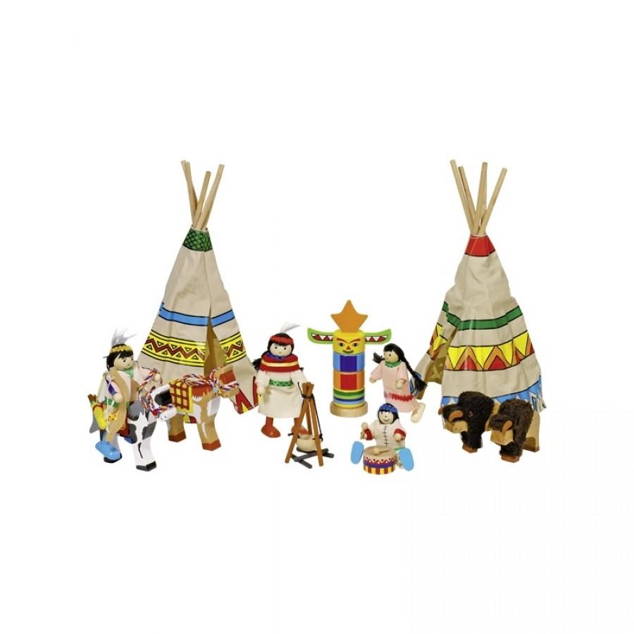 Goki - Elastyczne laleczki w obozie indiańskim | Esy Floresy