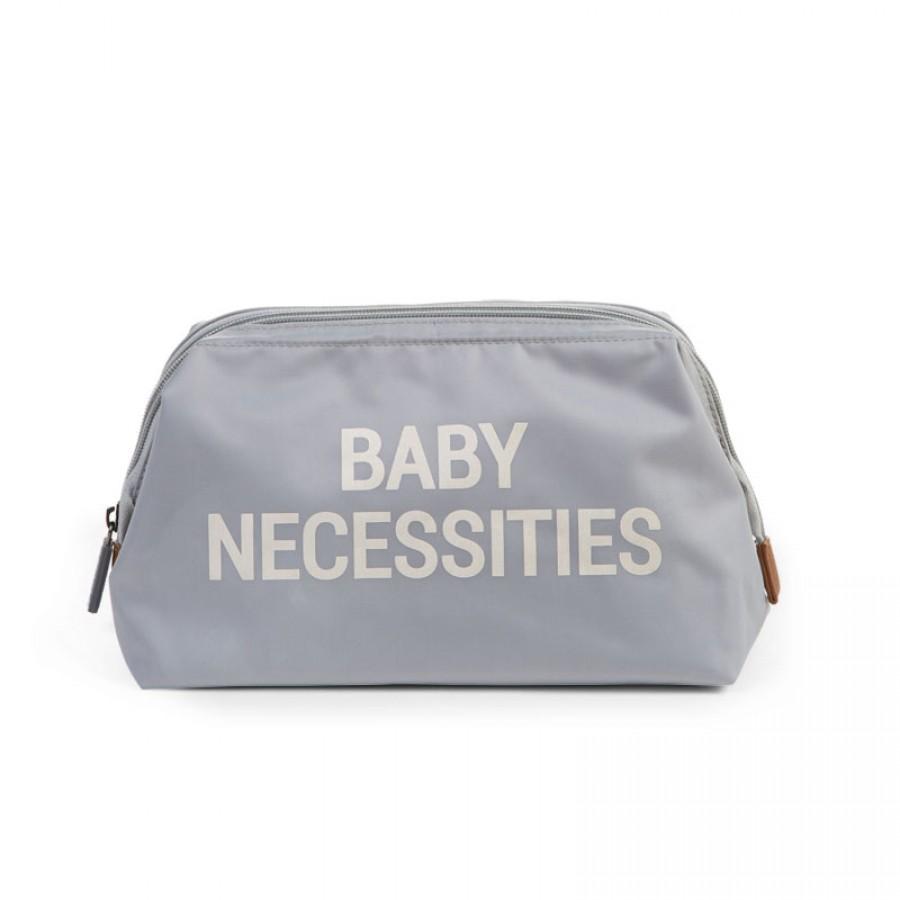 Childhome- Kosmetyczka Baby Necessities szara  | Esy Floresy