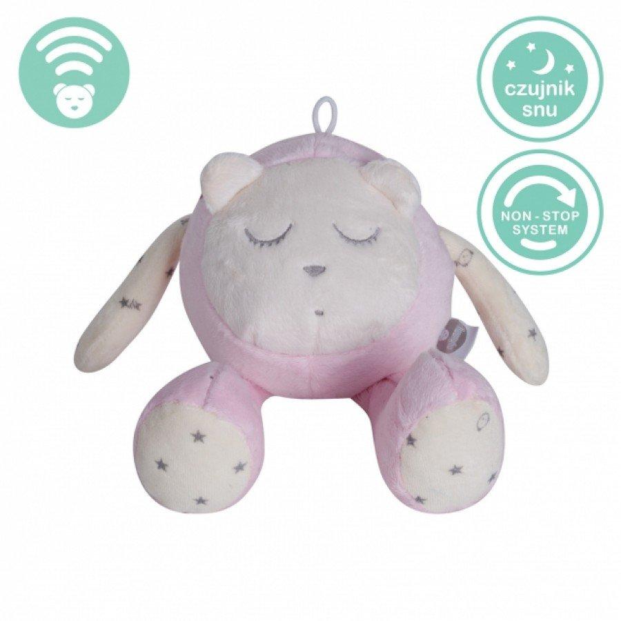 Szumiś Sleep Maskotka Czujnik snu Różowy   Esy Floresy