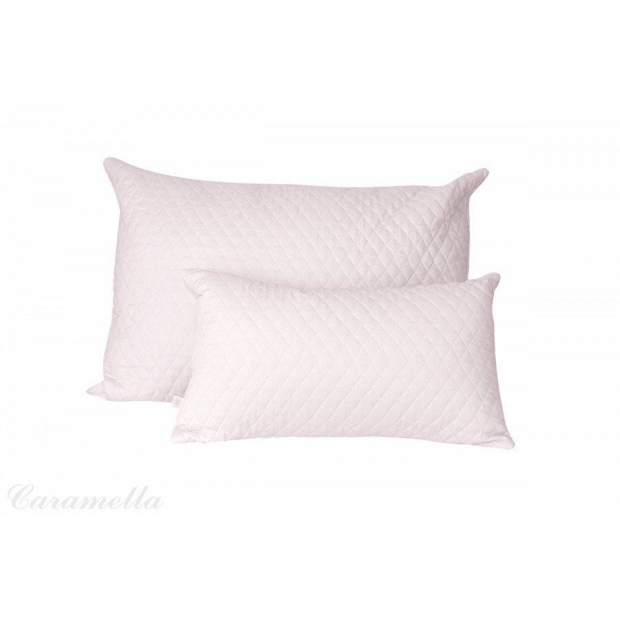Caramella Poduszki pudrowe, pikowane. Komplet 2 poduszek (mała i duża) - Esy Floresy