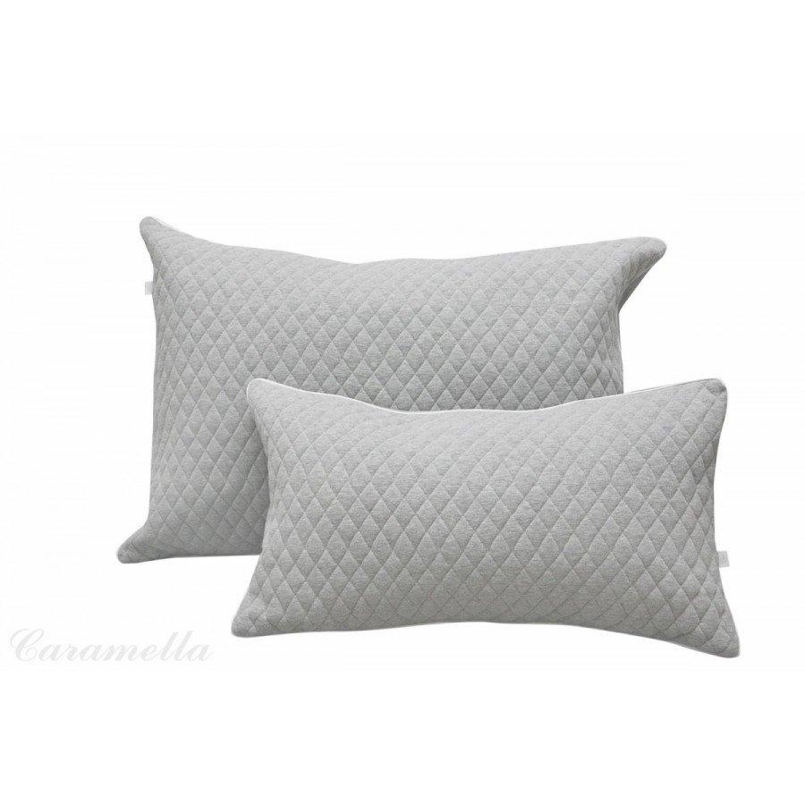 Caramella Poduszki Cambridge pikowane. Komplet 2 poduszek ( mała i duża) | Esy Floresy
