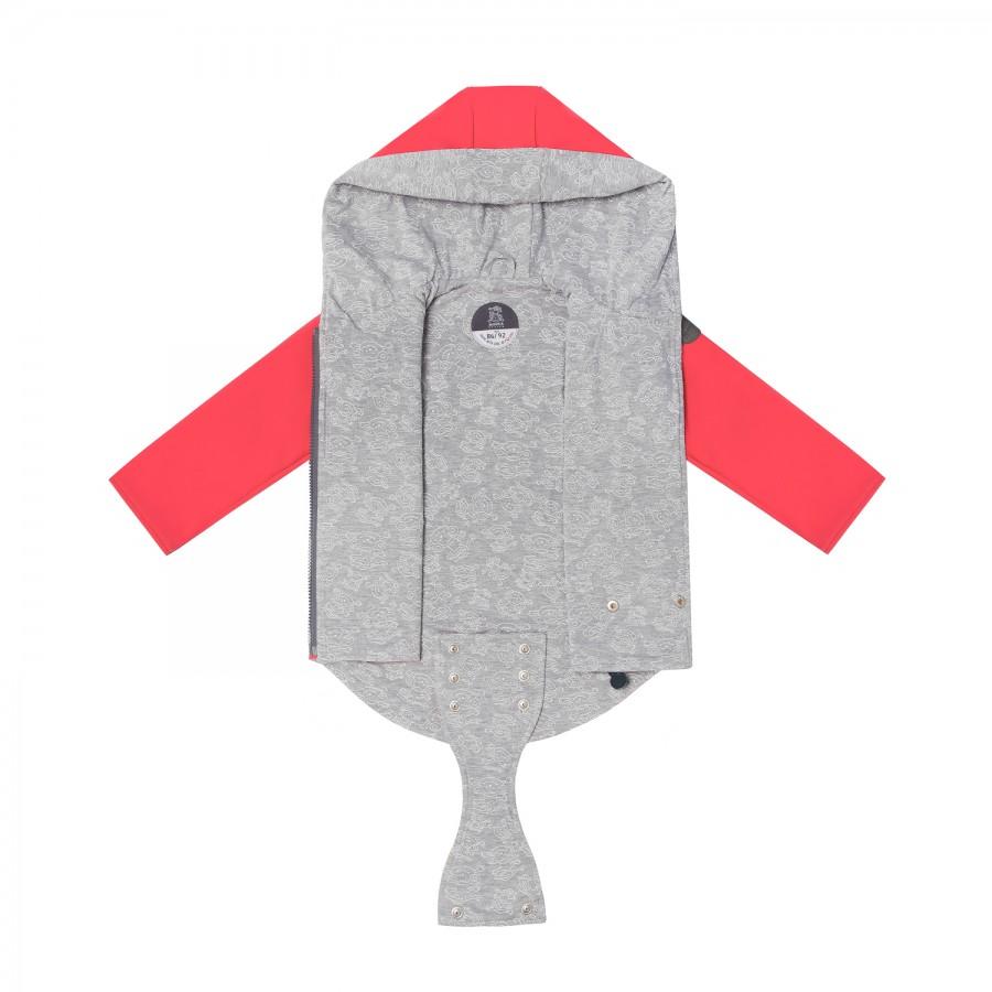 Miapka Design - Parka softshell z patentem Koral - Esy Floresy