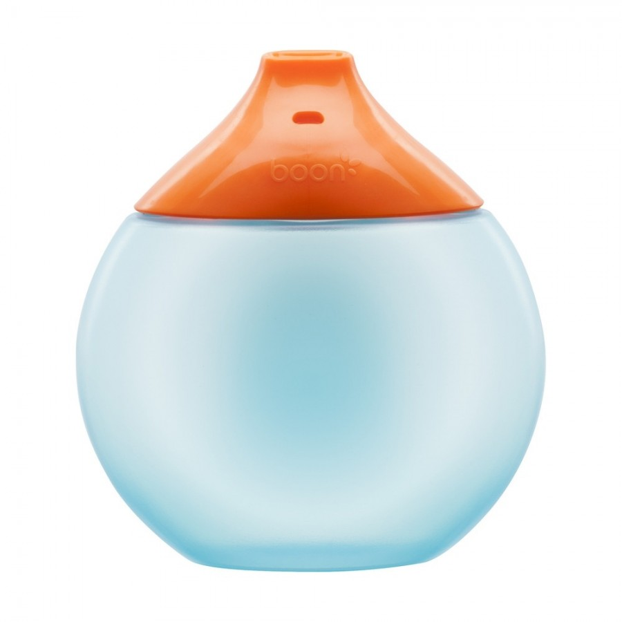 Boon - Kubek niekapek fluid Blue/Orange - Esy Floresy