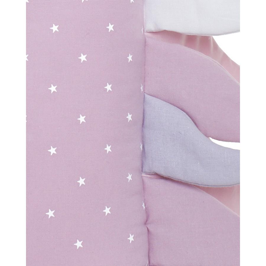MYtinyHOBBY - Jednorożec poduszka różowa w białe gwiazdki - Esy Floresy