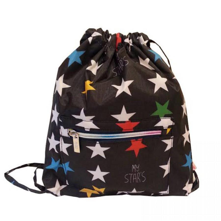 My Bag's - Plecak worek XS My Star's black | Esy Floresy