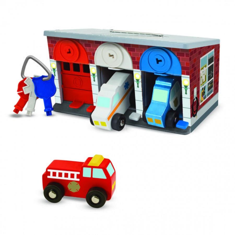 Melissa & Doug - Keys - Cars Rescue Garage. | Esy Floresy