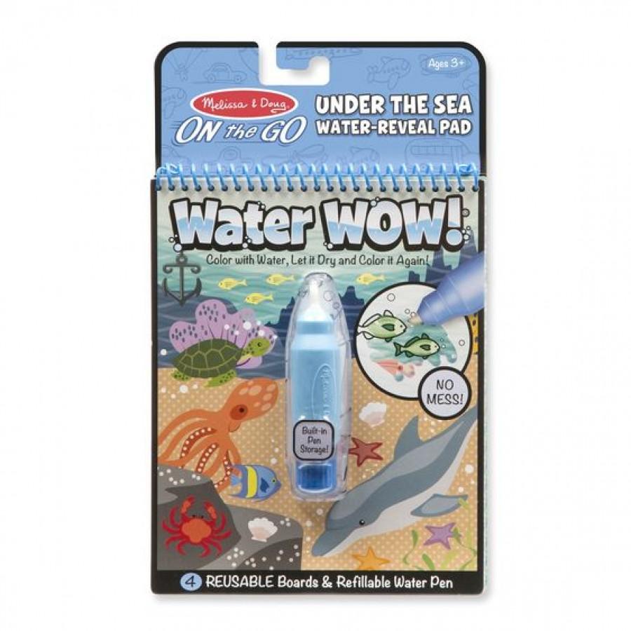 Melissa & Doug - Wodna Kolorowanka Water Wow! - Podwodny świat  - Esy Floresy