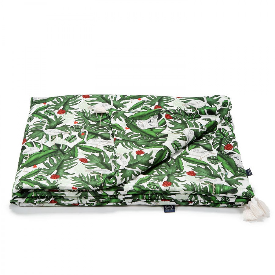 La Millou - Bamboo Bedding King Size - Evergreen Tiger .  | Esy Floresy