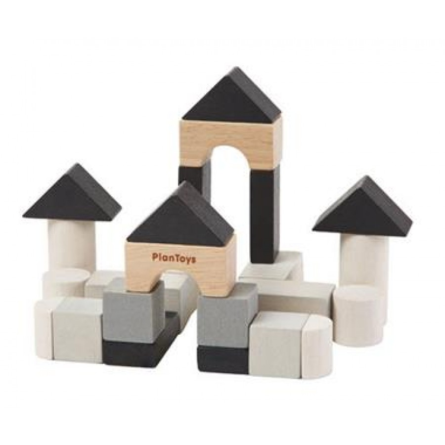 Plan Toys - Klocki Mini 34 elementy .    Esy Floresy
