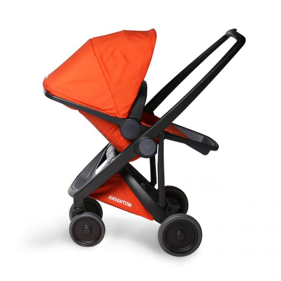 Greentom - Wózek Reversible black - orange - Esy Floresy