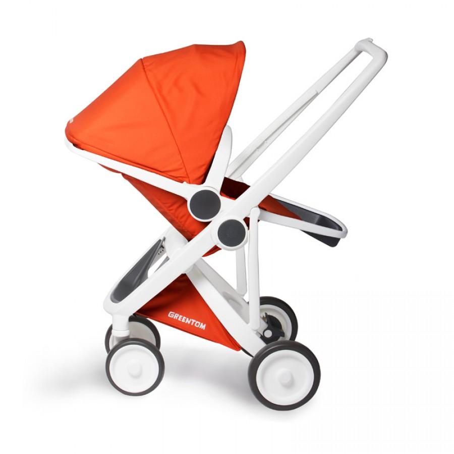 Greentom - Wózek Reversible white - orange - Esy Floresy