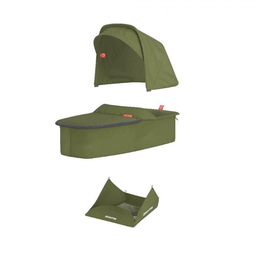 Greentom - Carrycot olive materiał - Esy Floresy