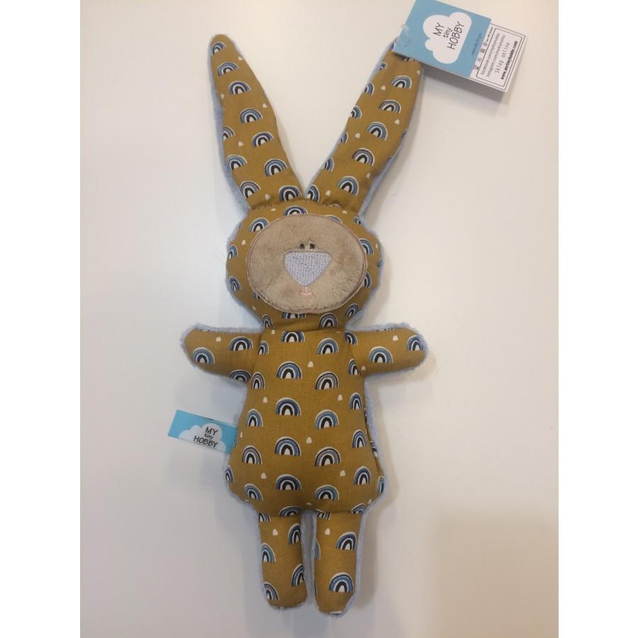 MyTinyHOBBY - Przytulanka królik mini Tęcza . | Esy Floresy