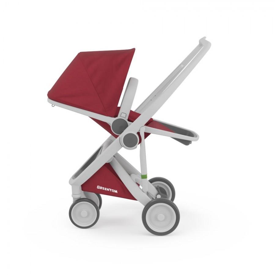 Greentom - Wózek Reversible grey - cherry - Esy Floresy