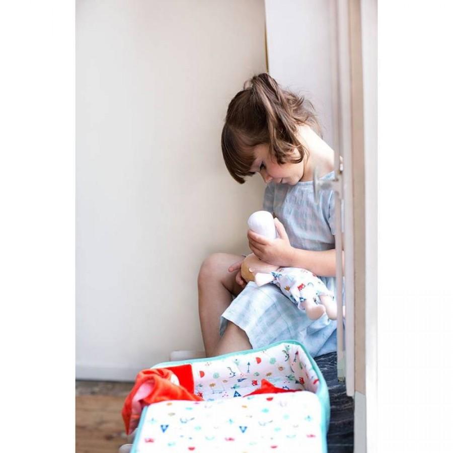 LILLIPUTIENS - Lalka z zestawem podróżniczym z walizeczką i akcesoriami Alex 12 m+ - Esy Floresy