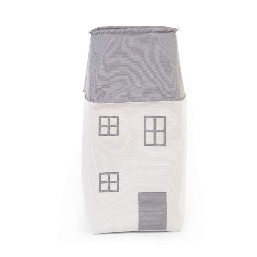 Childhome - Pojemnik na zabawki 32 x 32 x 73 cm Domek - Esy Floresy