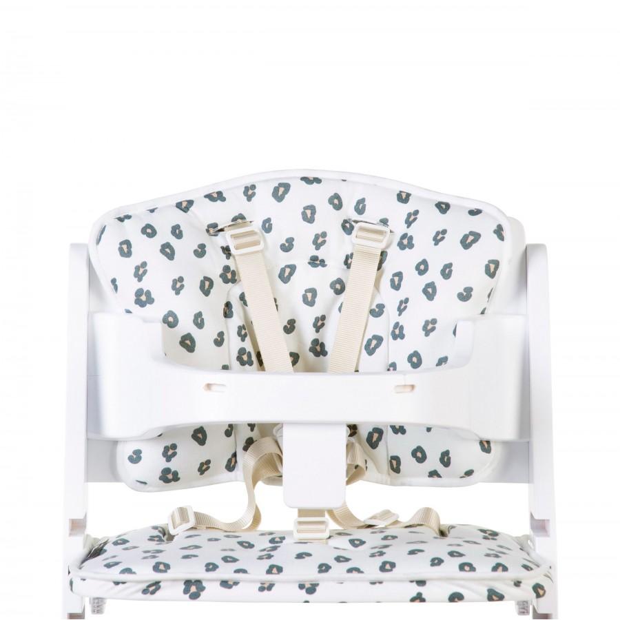 Childhome - Ochraniacz do krzesełka Lambda Jersey Leopard - Esy Floresy