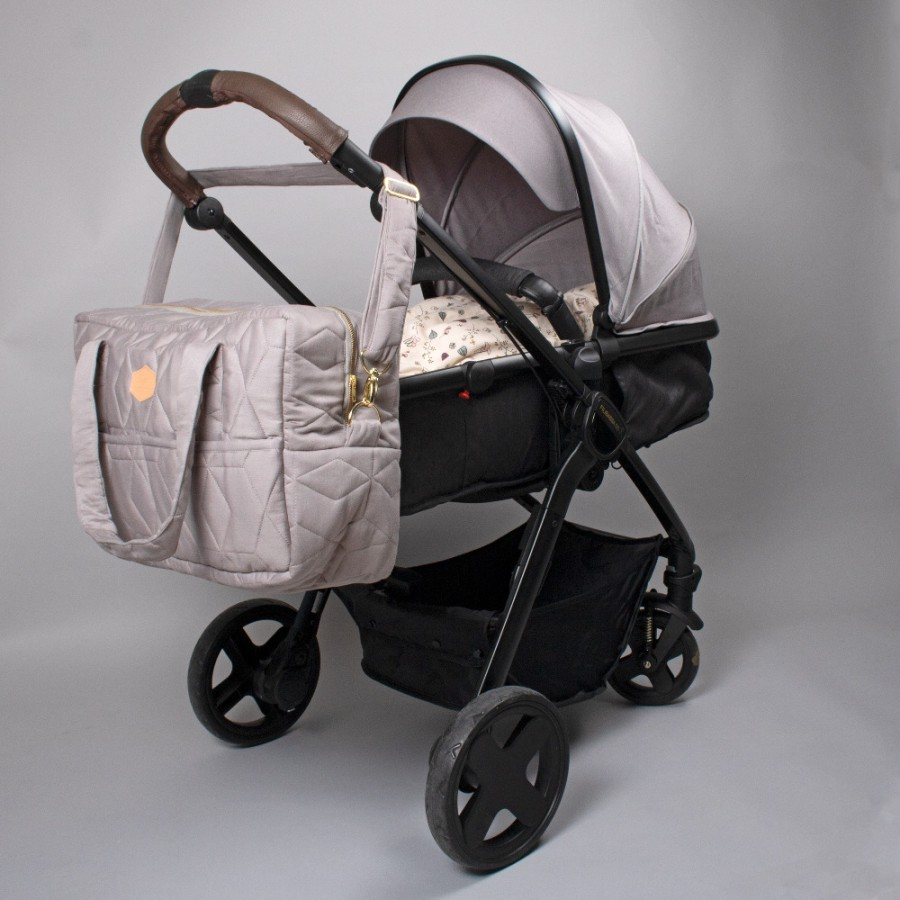 Filibabba - Torba Mommy Bag Wild Rose - Esy Floresy