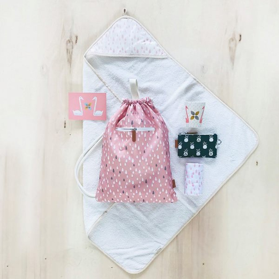 Fresk - Plecak worek Kropelki Pink - Esy Floresy