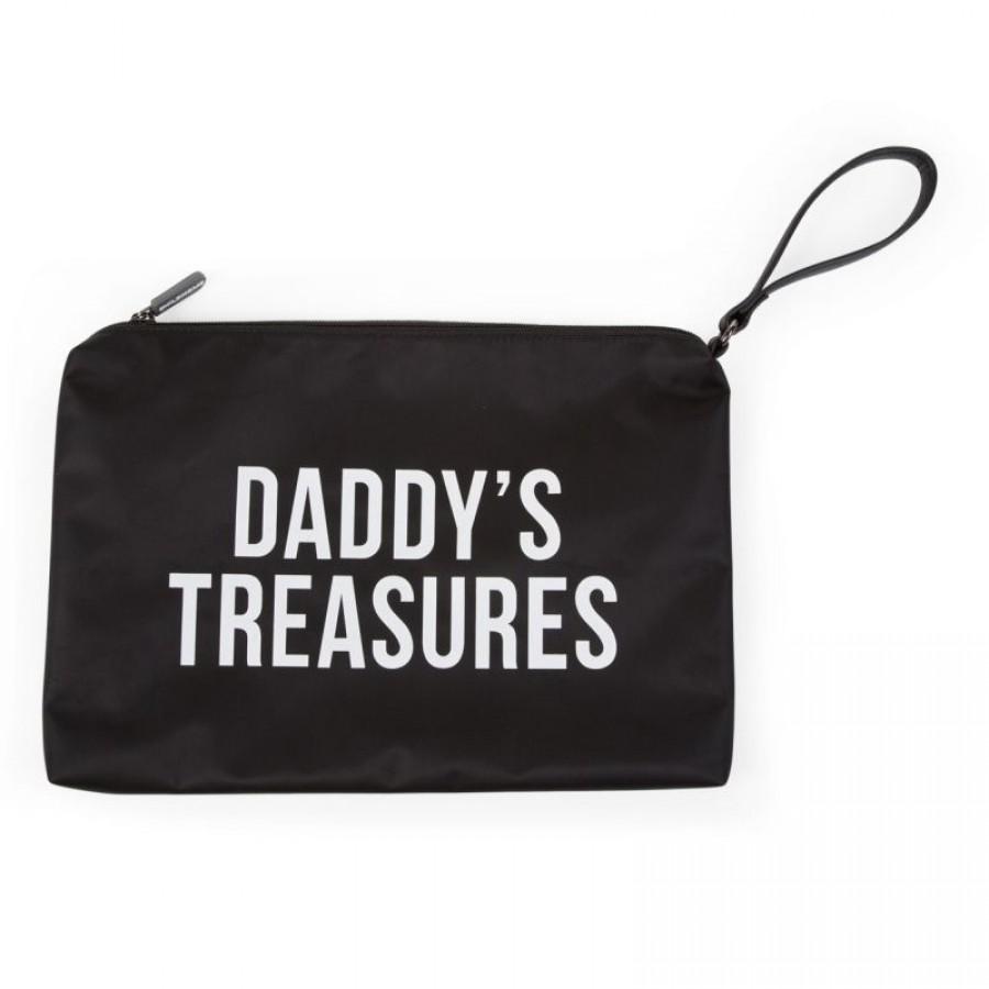 Childhome - Saszetka Daddy's Treasures Czarna - Esy Floresy