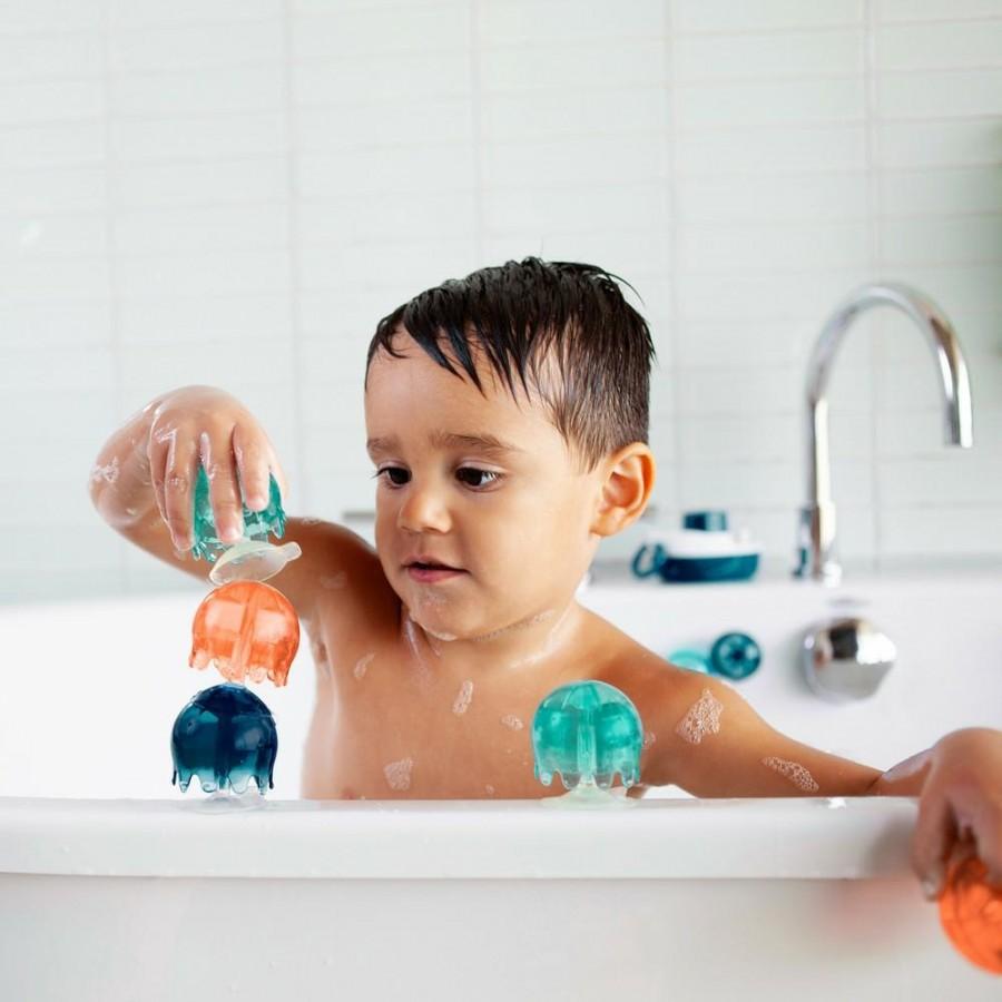 Boon - Zabawka do wody Przyssawki Jellies Cool kolor - Esy Floresy