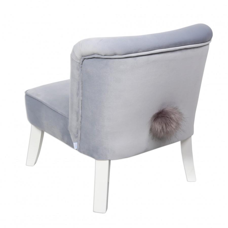 Bon Bon Kids - Fotelik tapicerowany Bunny błękitny - Esy Floresy