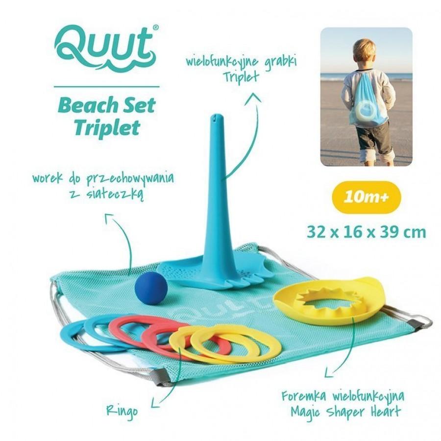QUUT - Set plażowy Triplet + Ringo + Magic Sharpers Sun w worku - Esy Floresy
